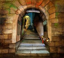 'The Way to The Castle' by Matylda  Konecka Art