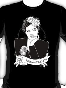 Billie Holiday in black T-Shirt