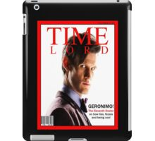 Time Lord Magazine iPad Case/Skin