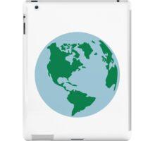 Globe world map america iPad Case/Skin