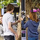 Is anybody looking - Canberra Street Photography by Wolf Sverak