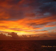 Carribean Sunset by Linda Jackson