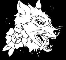 Killer Wolf in black by Killer Wolf
