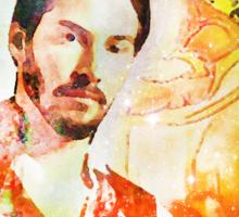 King of Wands Keanu Sticker