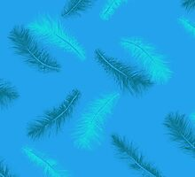 DELICATE - BLUE SHADES by Sally Barnett