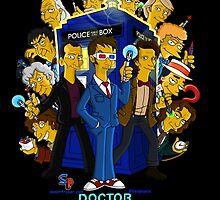 """DOH!""-ctor Who (Doctor Who/Simpsons) by bplavin"