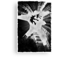 Mecha Flight Canvas Print