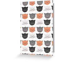 Cat Madness Greeting Card