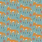 Foxy Pattern by KarinBijlsma