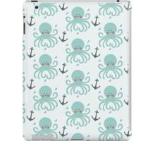 Squid Pattern iPad Case/Skin