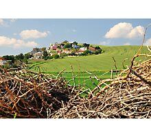 Hill village. Photographic Print
