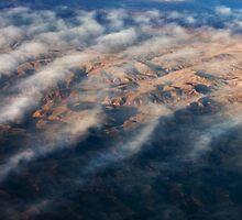 Mountain Abstract VI by David Lamb