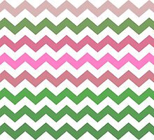 Pink Roses in Anzures 1 Chevron 2 by Christopher Johnson