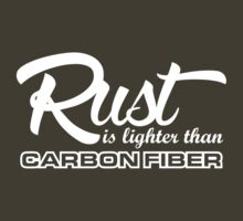 Rust is lighter than carbon fiber (3) by PlanDesigner