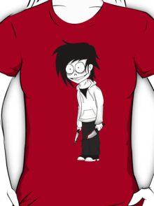 Jeff the Killer Cartoon T-Shirt