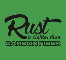 Rust is lighter than carbon fiber (5) Kids Clothes