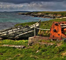 Fetlar boat by Avalinart