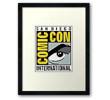 Comic Con No Border Framed Print