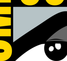 Comic Con No Border Sticker