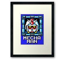 Mecha Man Framed Print