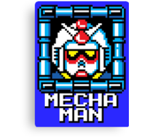 Mecha Man Canvas Print