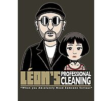 LEON's Professional Cleaning Photographic Print