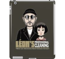 LEON's Professional Cleaning iPad Case/Skin
