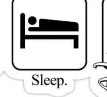 Eat. Sleep. Disney! Sticker
