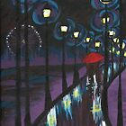 Night Reflections by Melody Hall-Fuller