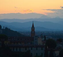 Blue Hills of Florence by skinnersbox