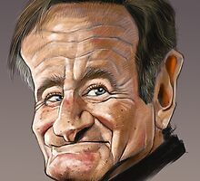 Robin Williams by arievanderwyst