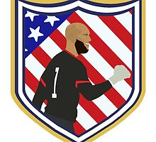 Tim Howard Crest by Beth L