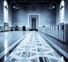 Old Ticketing Hall - Union Station - Los Angeles by Pete Edmunds