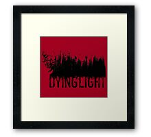 Dying Light - Logo by AronGilli Framed Print