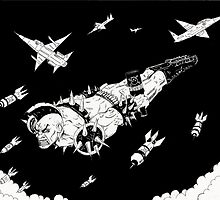Punk Bomb Earth Destroyed! by Alaric  Barca