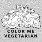 Color Me Vegetarian by T-ShirtsGifts