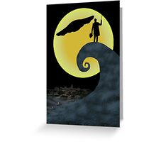 The Doctor's Nightmare Before Christmas Greeting Card