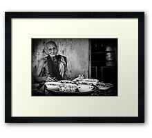 The Old Man of the Temple Framed Print
