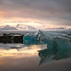 colours of the glacier by HannelePhoto
