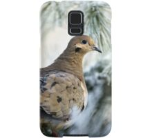 Winter Mourning Dove Samsung Galaxy Case/Skin