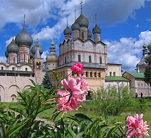 Kremlin & Church of the Resurrection of Christ, Rostov Veliky, Russia by vadim19