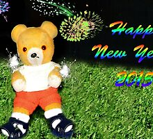 Happy New Year from Fred Bear by missmoneypenny