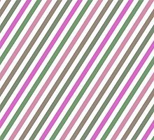 Pink Roses in Anzures 1 Stripes 1B by Christopher Johnson
