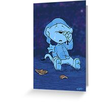 Ferald Crying Greeting Card