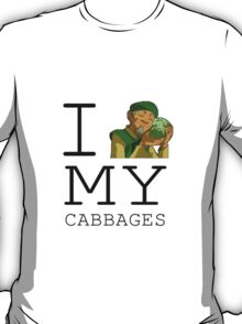 I Love My Cabbages T-Shirt