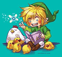 Cucco Bedtime Stories - Legend of Zelda by Bettina Kurkoski