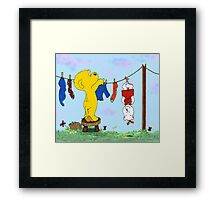 Ferald and Pozzum Framed Print
