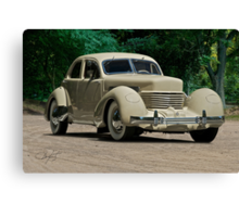 1937 Cord Beverly Canvas Print