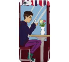 Cafe Tea, Converse, and Flowers  iPhone Case/Skin