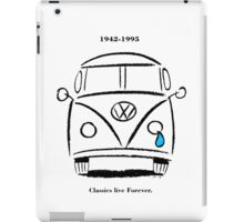 Classics Live Forever iPad Case/Skin